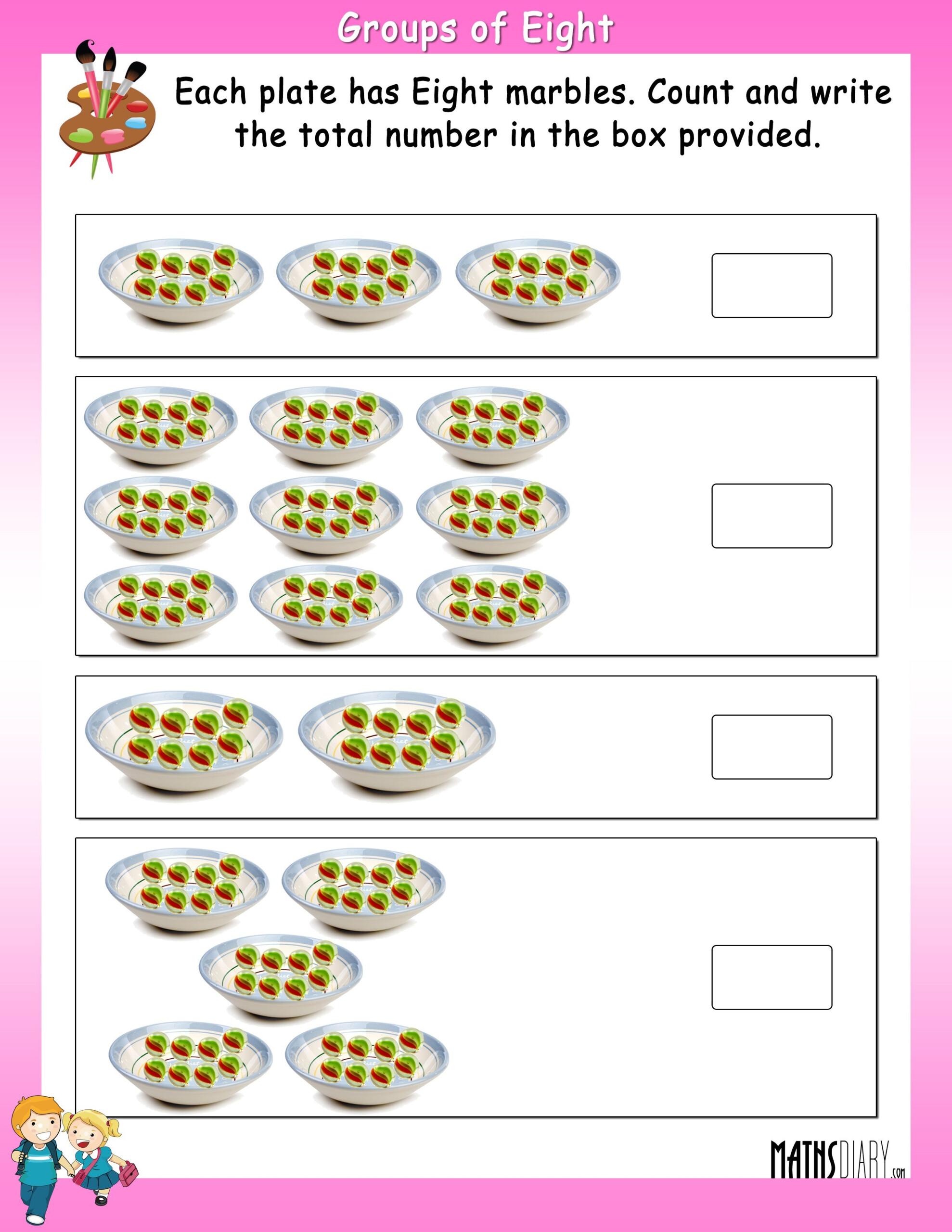 Multiplication Fact - Math Worksheets - Mathsdiary within Worksheets Multiplication Grade 1