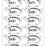 Multiplication Times Tables Worksheets – 2, 3, 4 & 5 Times With Printable Multiplication Worksheets 3 Times Table