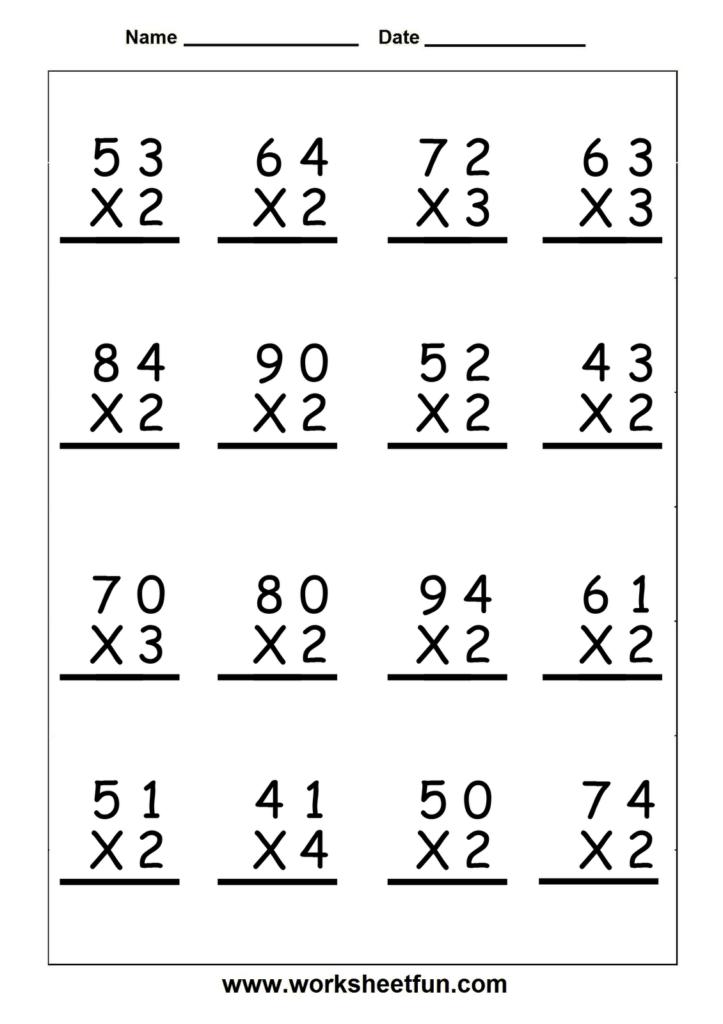 Multiplication Word Problems Grade 5 Worksheet Examples Regarding Printable Multiplication Problems For 5Th Grade