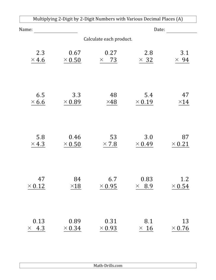 0 Multiplication Worksheets Pdf