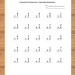 Pin On Math Worksheets For Kids Within Printable Multiplication Worksheets Pdf