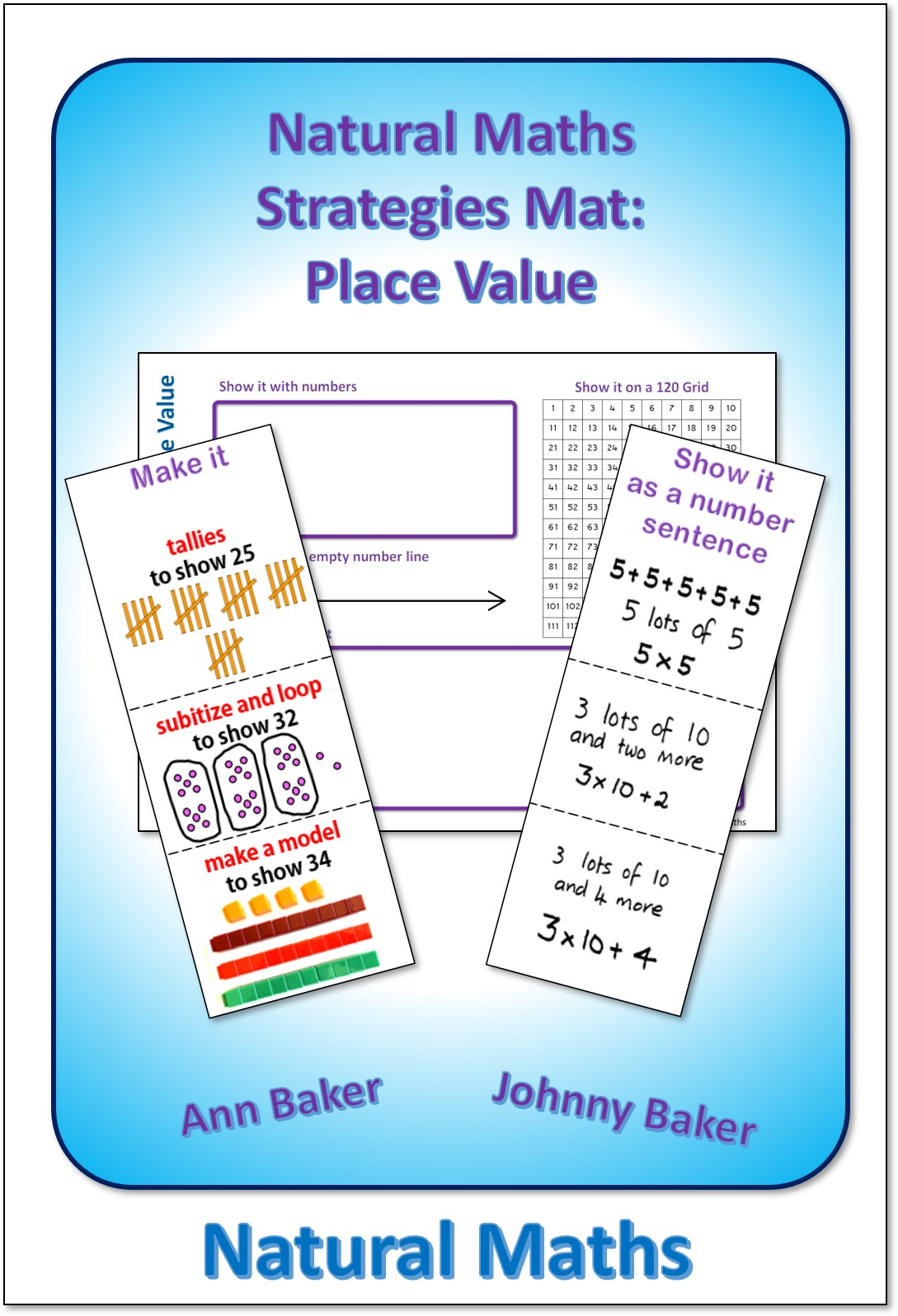 Place Value Mat | Natural Maths with Printable Multiplication Strategy Mat