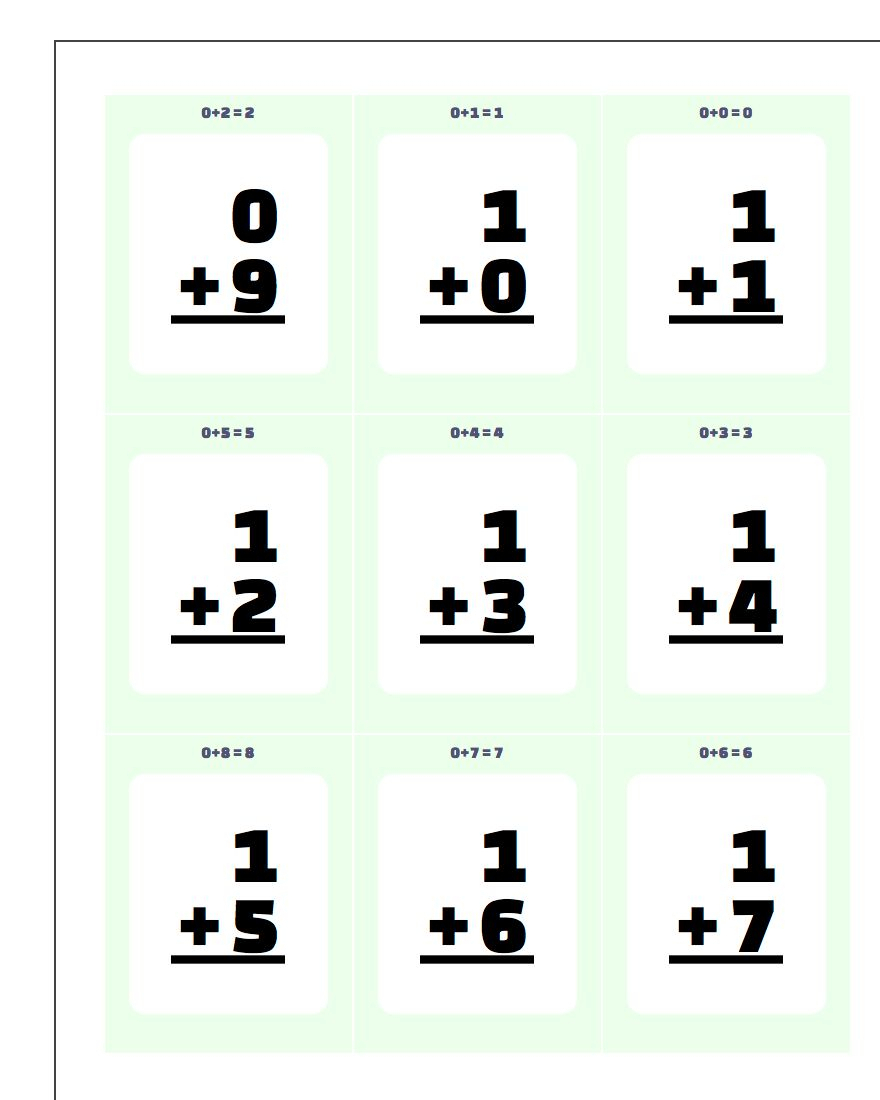 Printable Flash Cards Throughout Printable Multiplication with Printable Math Multiplication Flash Cards
