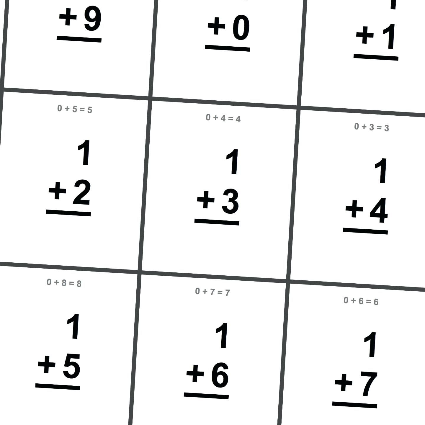 Printable Multiplication Flash Cards Double Sided That Are regarding Printable Multiplication Flash Cards 6