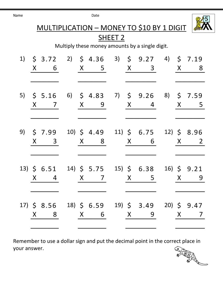 Printable Multiplication Worksheets | K5 Worksheets | Math intended for Multiplication Worksheets K5
