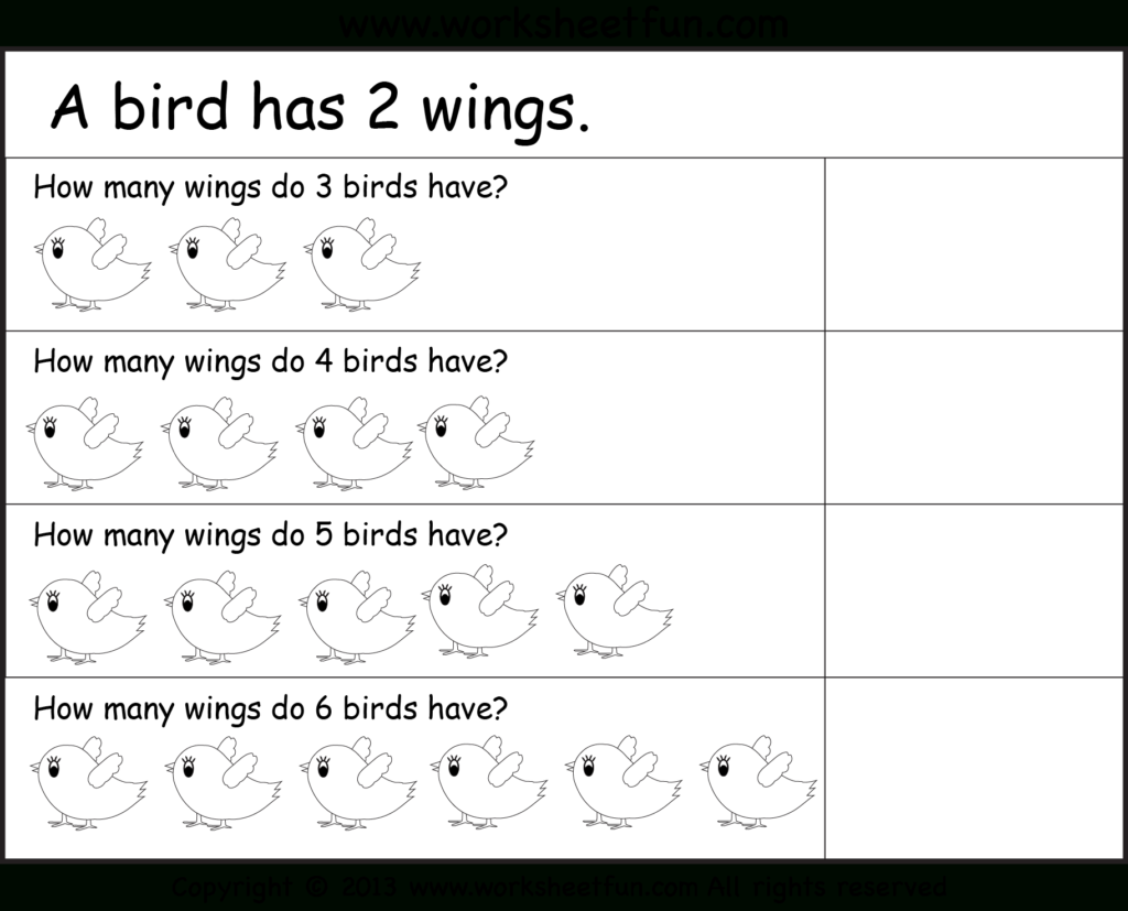 Repeated Addition Worksheets Ks1 & Year 1 Multilplication Intended For Multiplication Worksheets Ks1