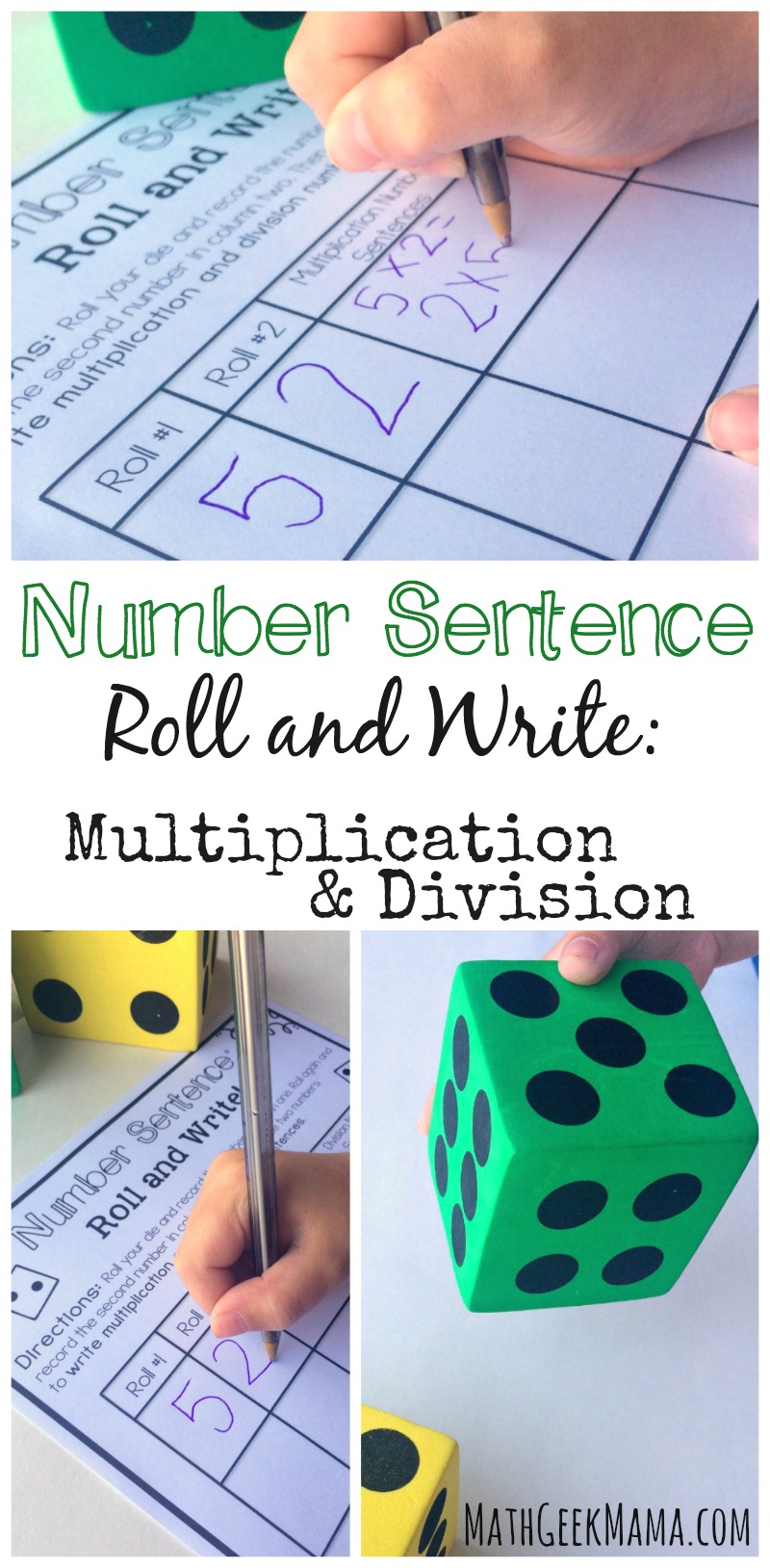 Simple And Low Prep Multiplication And Division Game {Free} pertaining to Printable Multiplication Dice Games