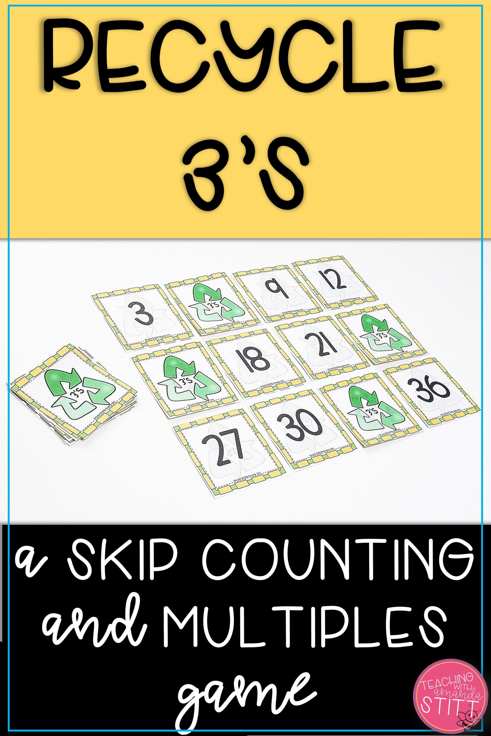 Skip Counting Game | Multiplication Facts Game | 3S pertaining to Printable 3's Multiplication Flash Cards