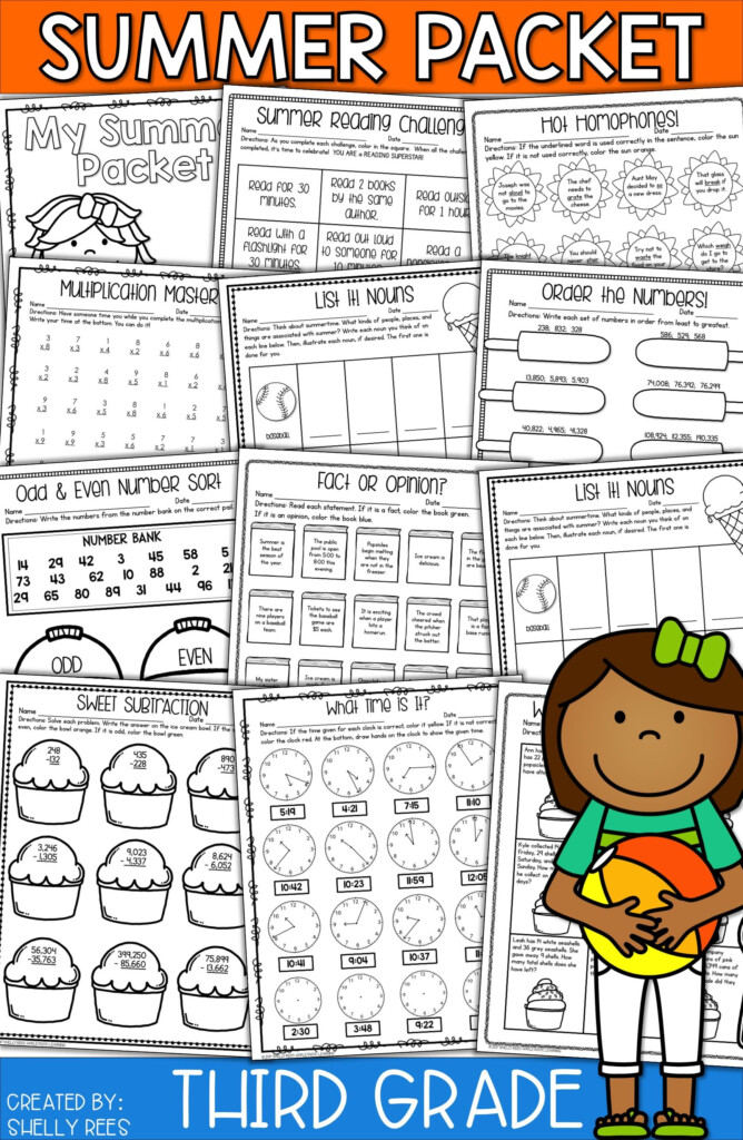 Summer Packet Third Grade | 3Rd Grade Math, Third Grade Within Printable Multiplication Packet