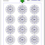 These Addition Worksheets Emphasize Groups Of Related Facts With Regard To Multiplication Worksheets Random Order
