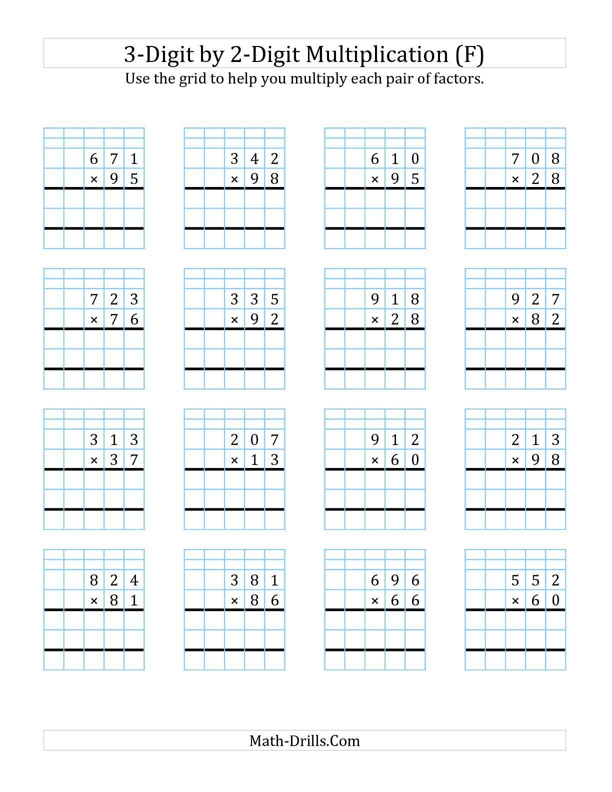 Title} (Com Imagens) | Atividades De Matemática, Atividades inside Multiplication Worksheets On Grid Paper