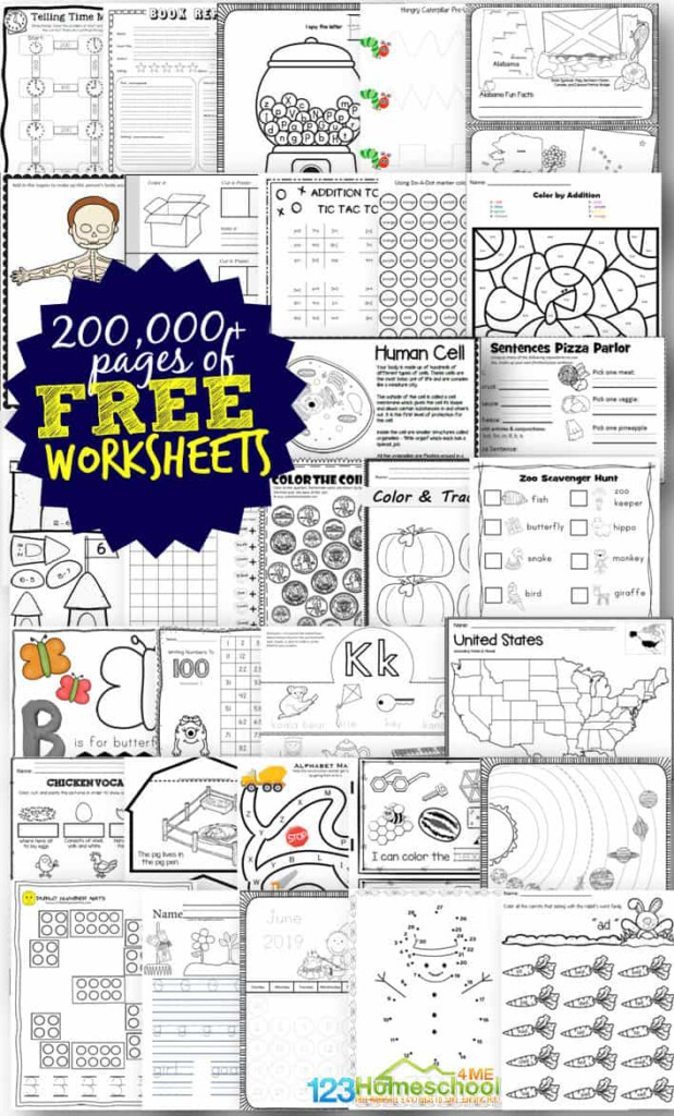 Tons Of Free Worksheets For Kids With Multiplication Worksheets Homeschool