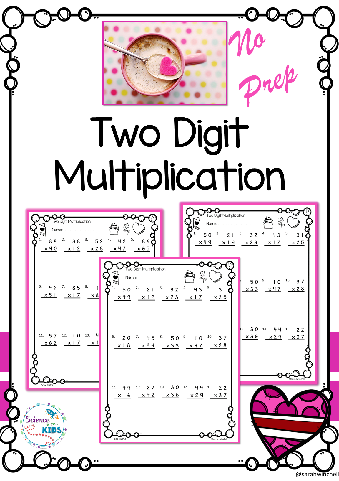 Valentines Day Activities Math Worksheets Multiplication throughout Multiplication Worksheets Valentines