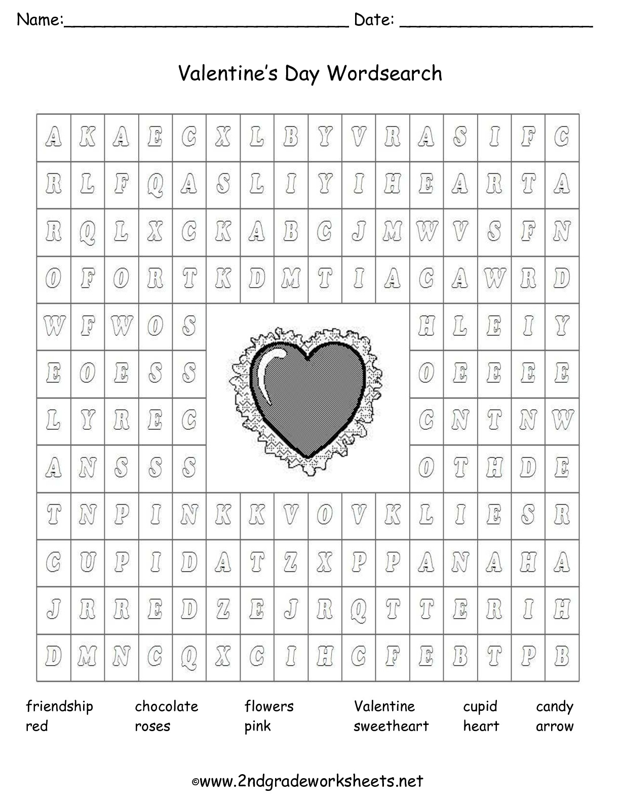 Valentine's Day Printouts And Worksheets with Multiplication Worksheets Valentines
