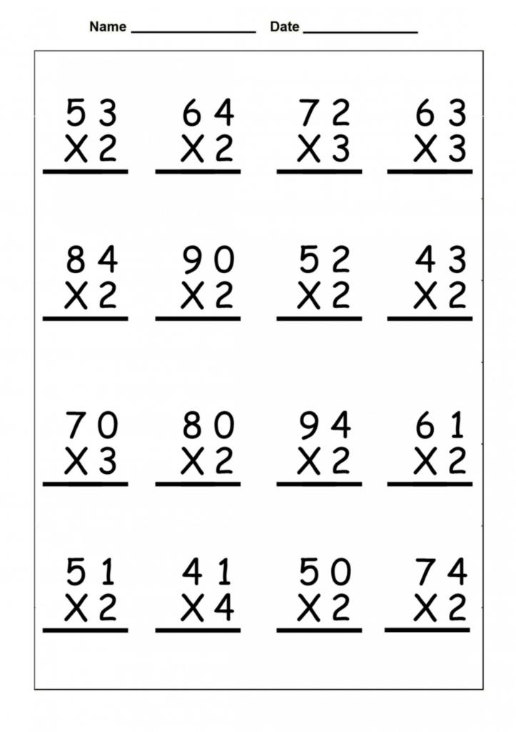 Worksheet Ideas ~ Coloring Book Remarkable 4Th Grade Inside Printable Multiplication 4Th Grade