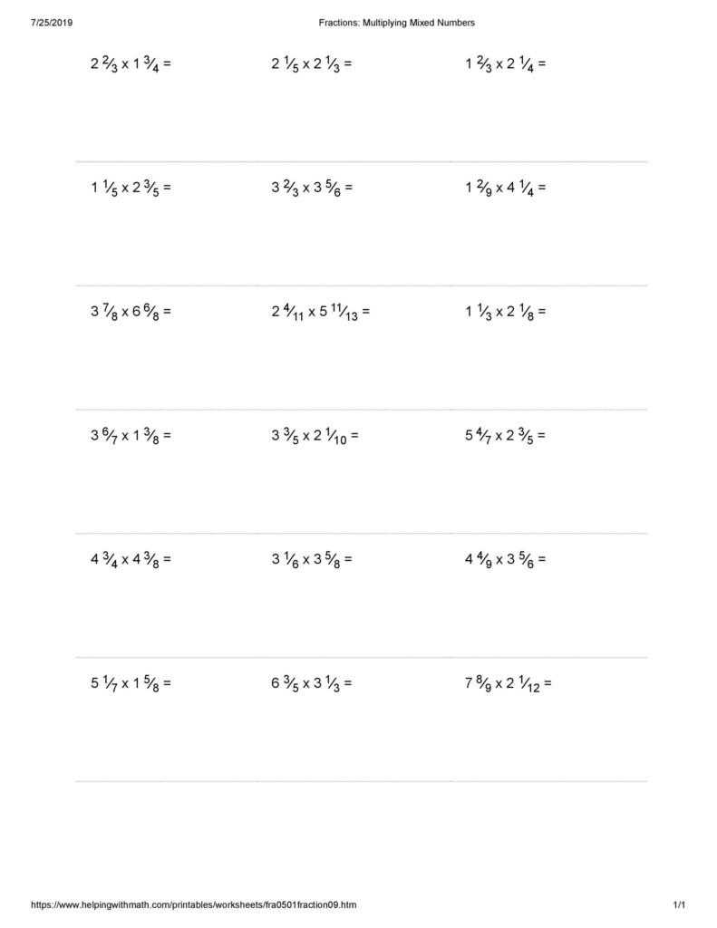 Worksheet Ideas ~ Maxresdefaultplying Fractions Worksheets Pertaining To Multiplication Worksheets Kuta