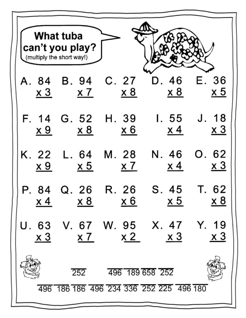 Worksheet Ideas ~ Outstanding 3Rd Gradeication Worksheets Pertaining To Multiplication Worksheets 3's And 4's