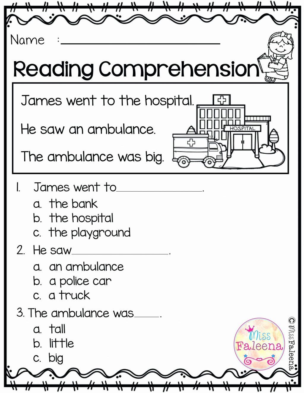 Worksheet Ideas ~ Reading Comprehension Test Online Free inside Multiplication Worksheets Online Free