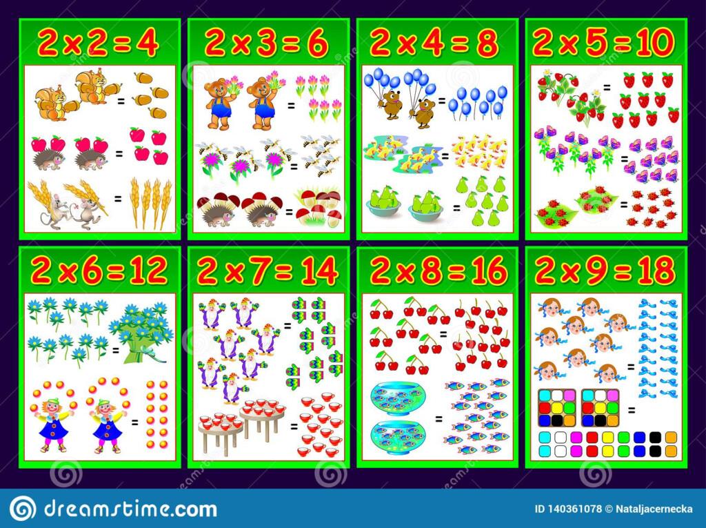 Worksheet Multiplication 2 Xs   Printable Worksheets And Within Printable Multiplication Poster