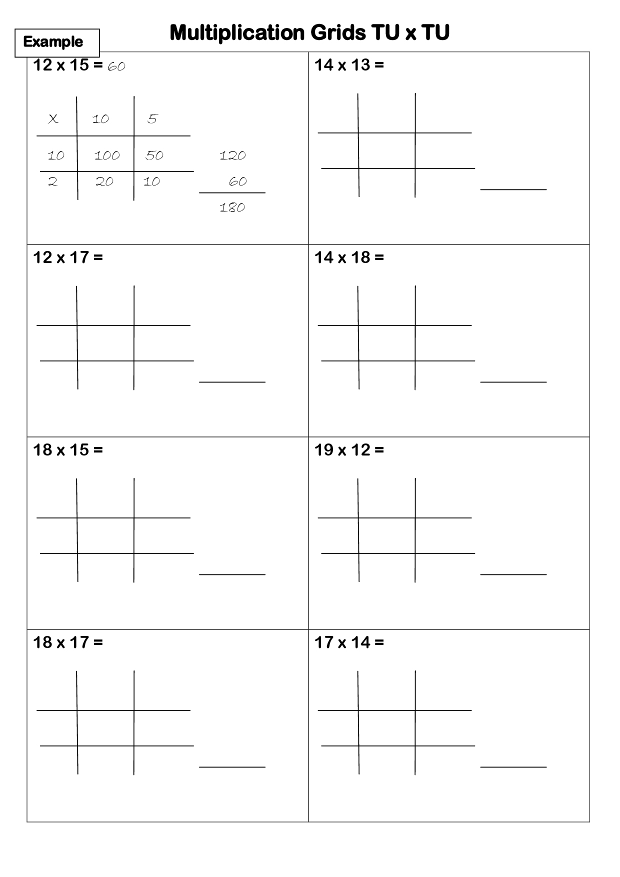 Worksheet Works Lattice | Printable Worksheets And in Printable Lattice Multiplication Grids