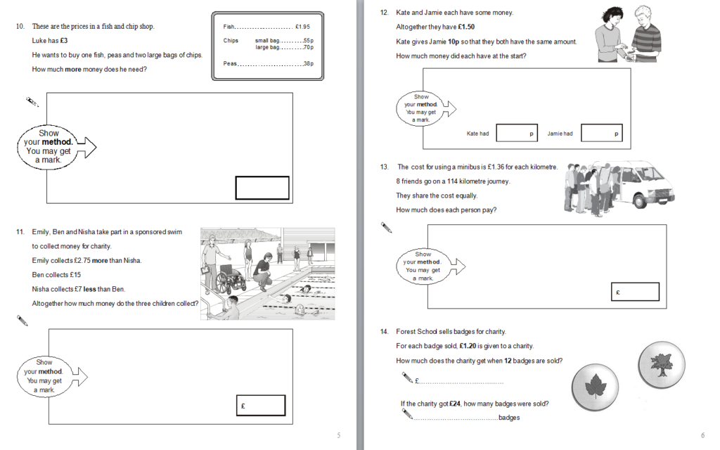Year 6 Maths Sats Questions A Selection Of Math Sats Intended For Multiplication Worksheets Ks1 Tes
