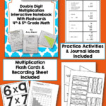 Double Digit Multiplication Interactive Notebook Inb Unit