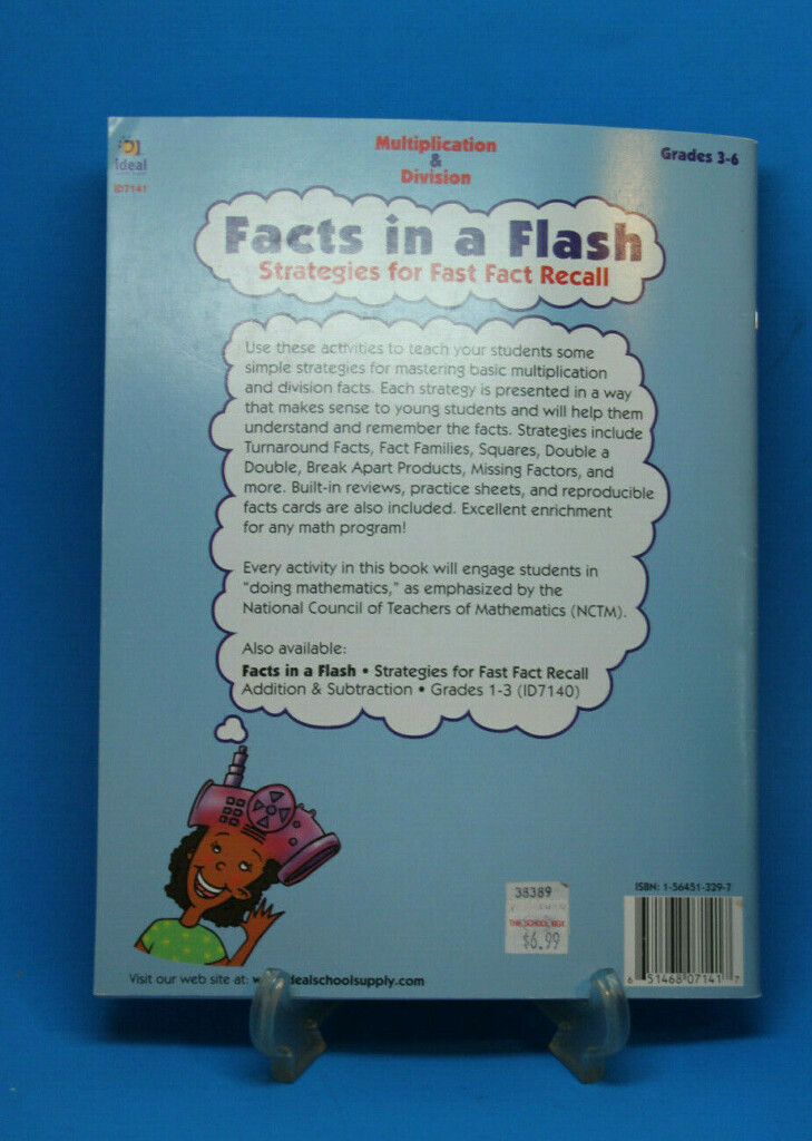 Facts In A Flash Multiplication Division Ideal Patricia