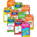 Flash Card & Game Card Collection Ages 6 Up