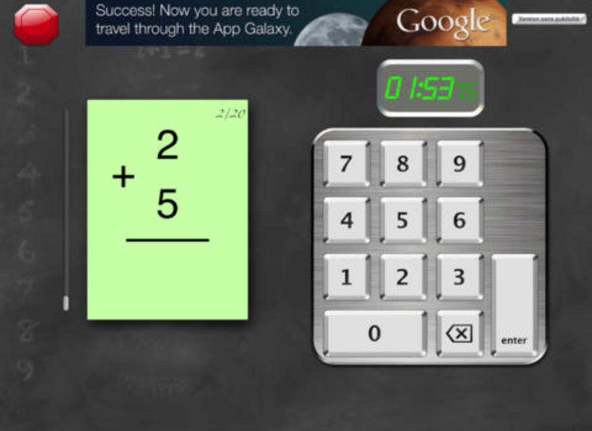 Flashtopass Free Math Flash Cards - Application - Mathematics