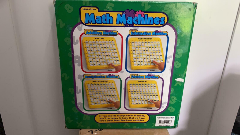 Lakeshore Learning Materials Multiplication Practice Math Machine