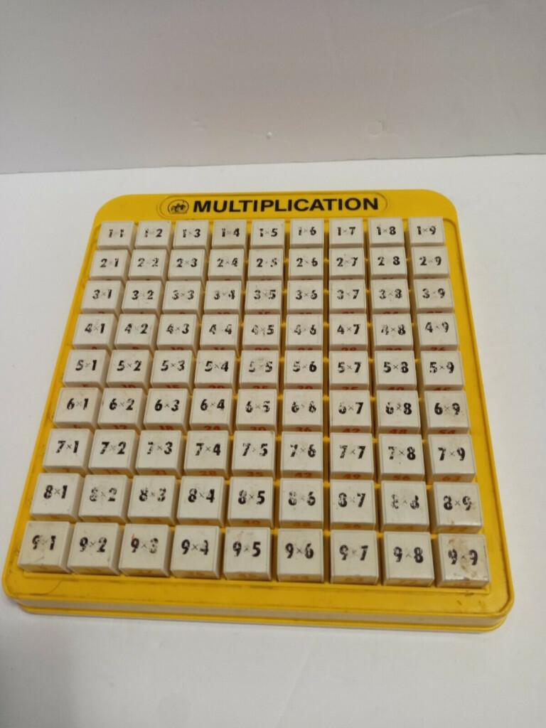 Lakeshore Multiplication Machine Math Learning Toy
