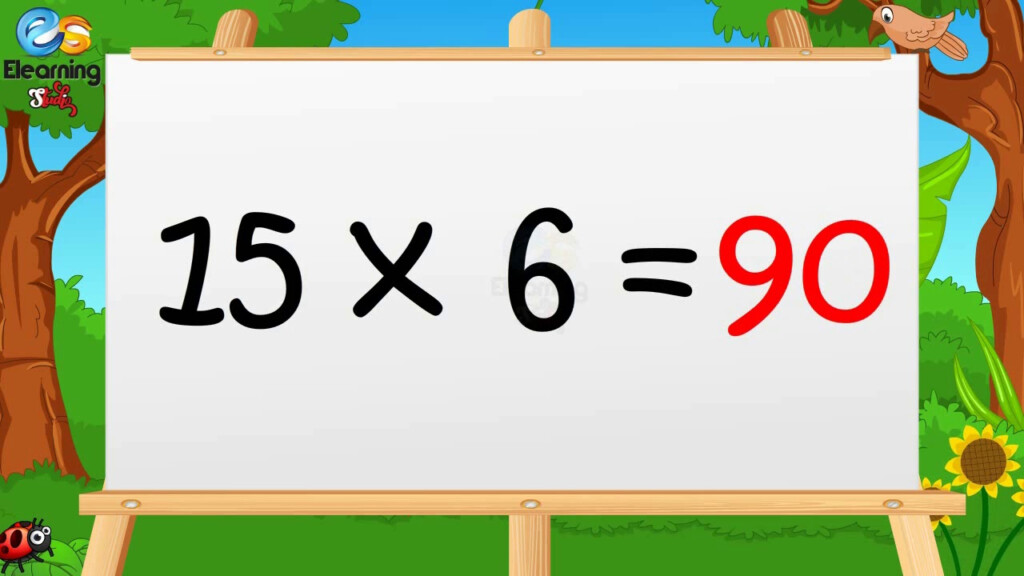Learn Multiplication Table Of Fifteen 15 X 1 = 15   15 Times Tables