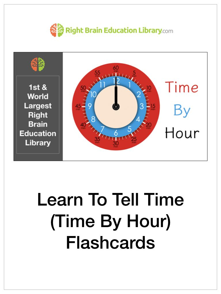 Learning To Tell Time Is Part Of Mathematics. You Can Use