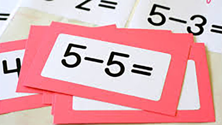Multiplication Flash Cards Quick Flash