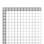 Multiplication Chart Empty Pdf Printable Blank