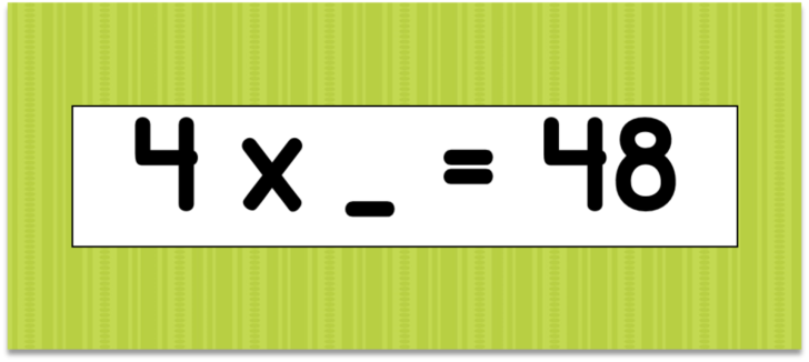 Multiplication Flash Cards 4s