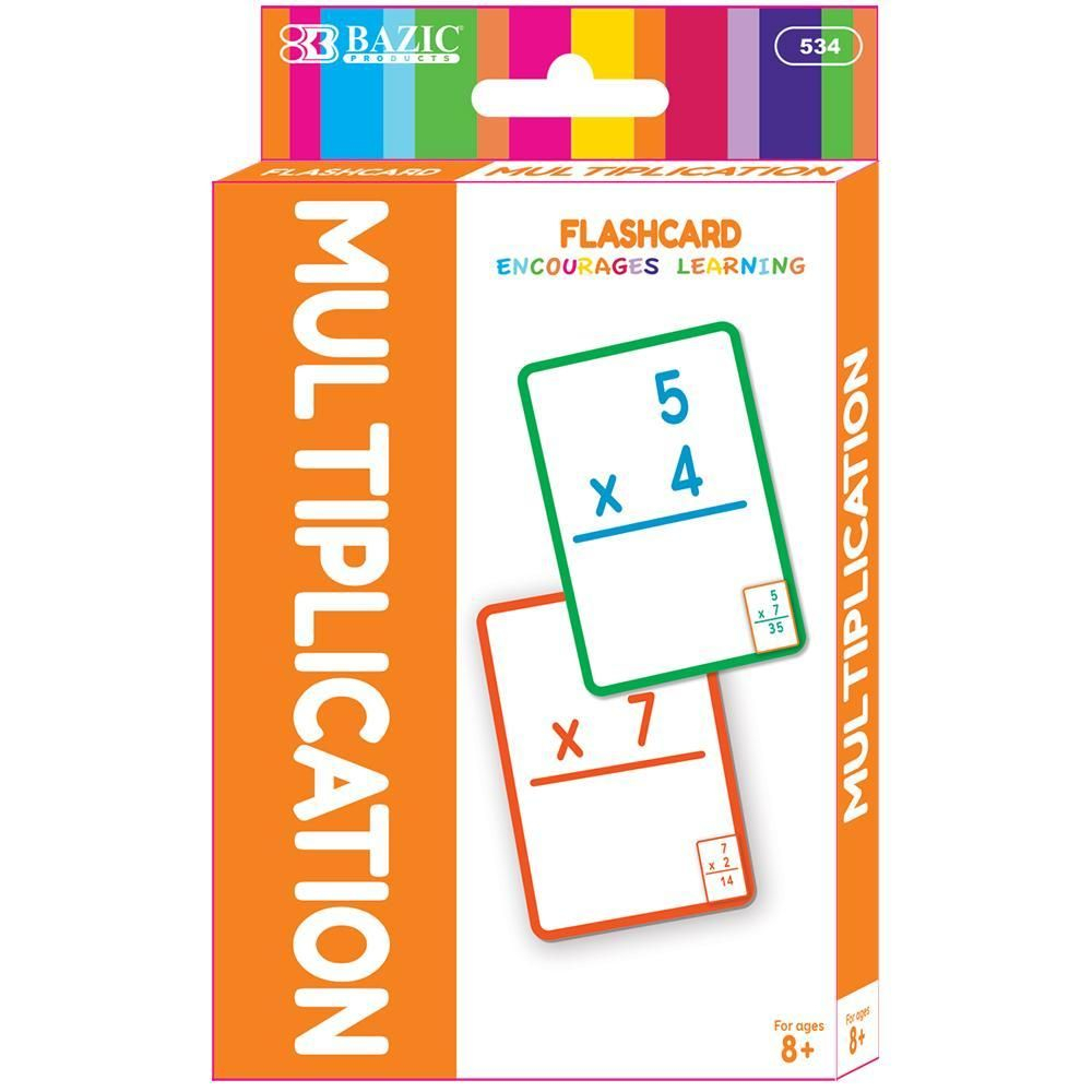 Multiplication Flash Cards (36/pack) | Addition Flashcards