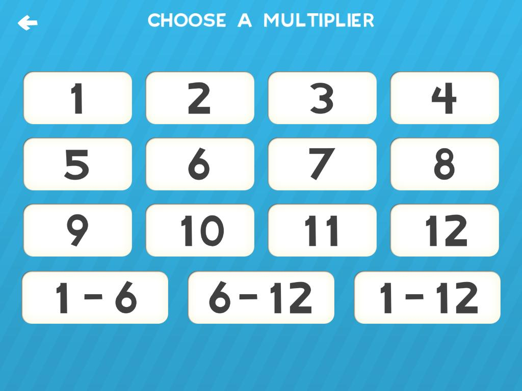 Multiplication Flash Cards Games Fun Math Practice For