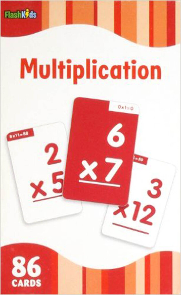 Multiplication Flashcards (Flashkids)