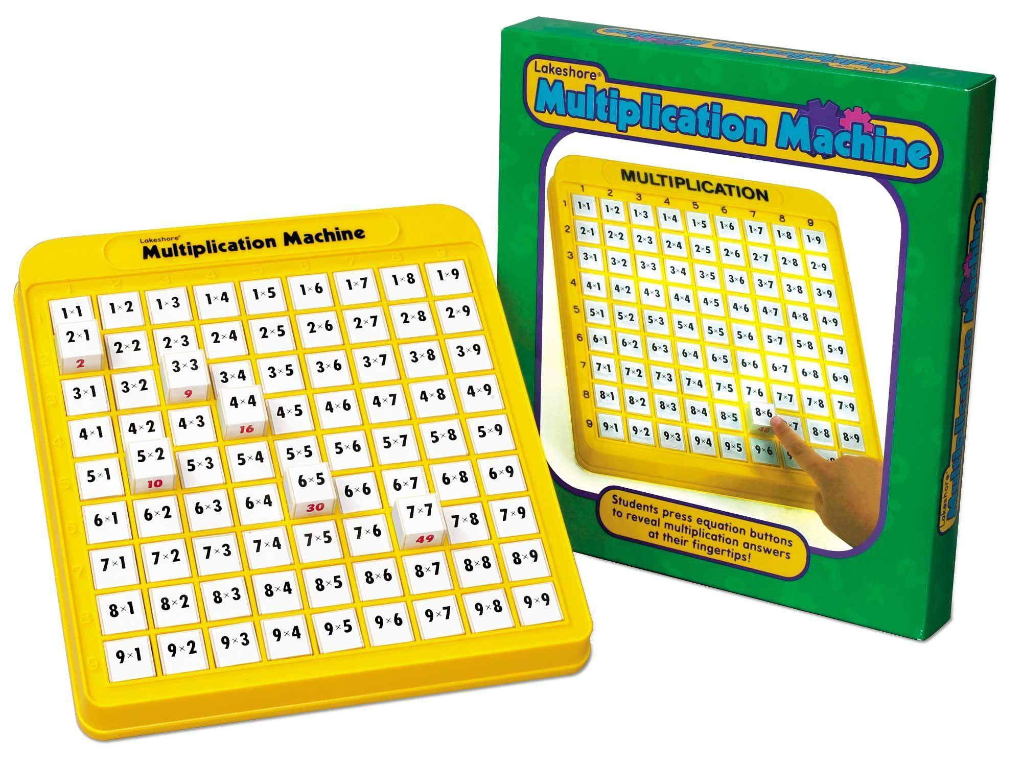 Multiplication Practice Math Machine   Multiplication