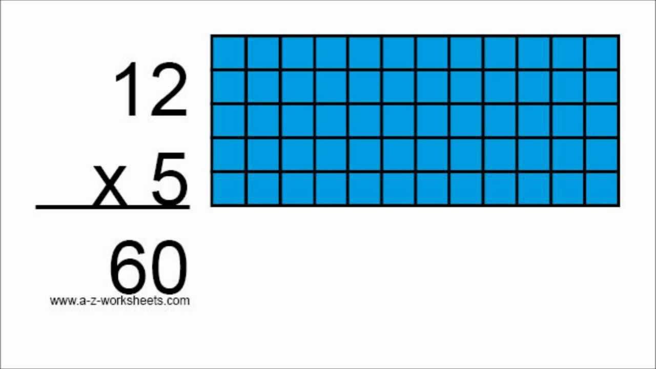 Multiplication Table - Multiplication Flashcards Video
