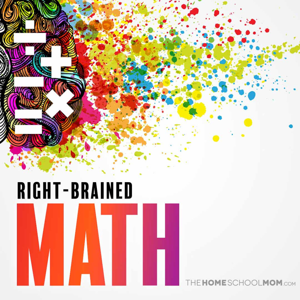 Right Brained Math Curriculum | Thehomeschoolmom