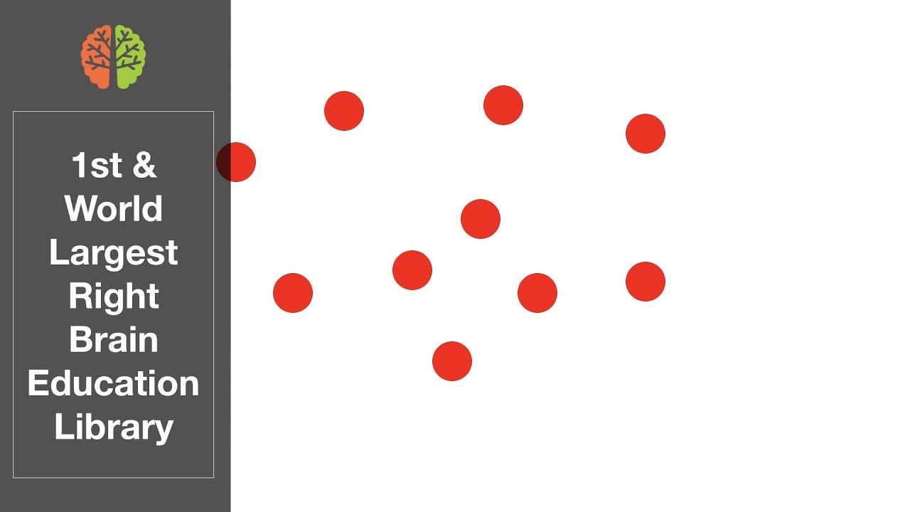 Shichida Flashcards: 63 Day Math Program (Dots) Day 1