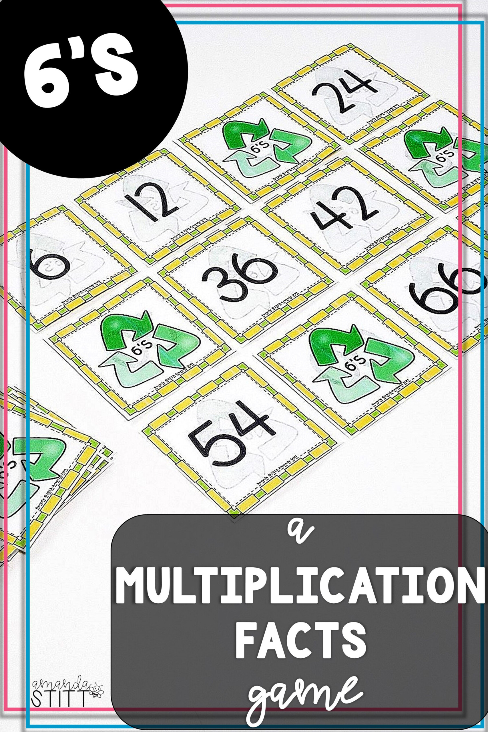 Skip Counting Game | Multiplication Facts Game | 6S