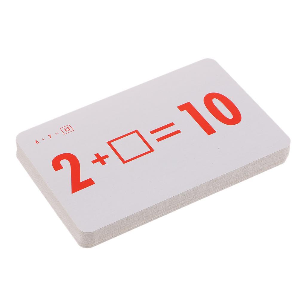 Subtraction Addition Division & Multiplication 144 Pcs Math