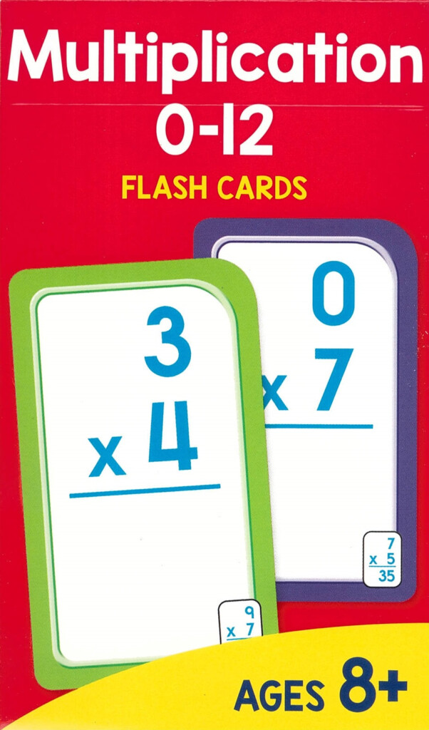 Sz Multiplication 0 12 Flash Cards (New Cover)