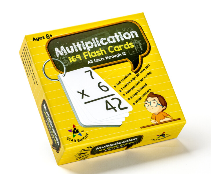 Multiplication Flash Cards Canada