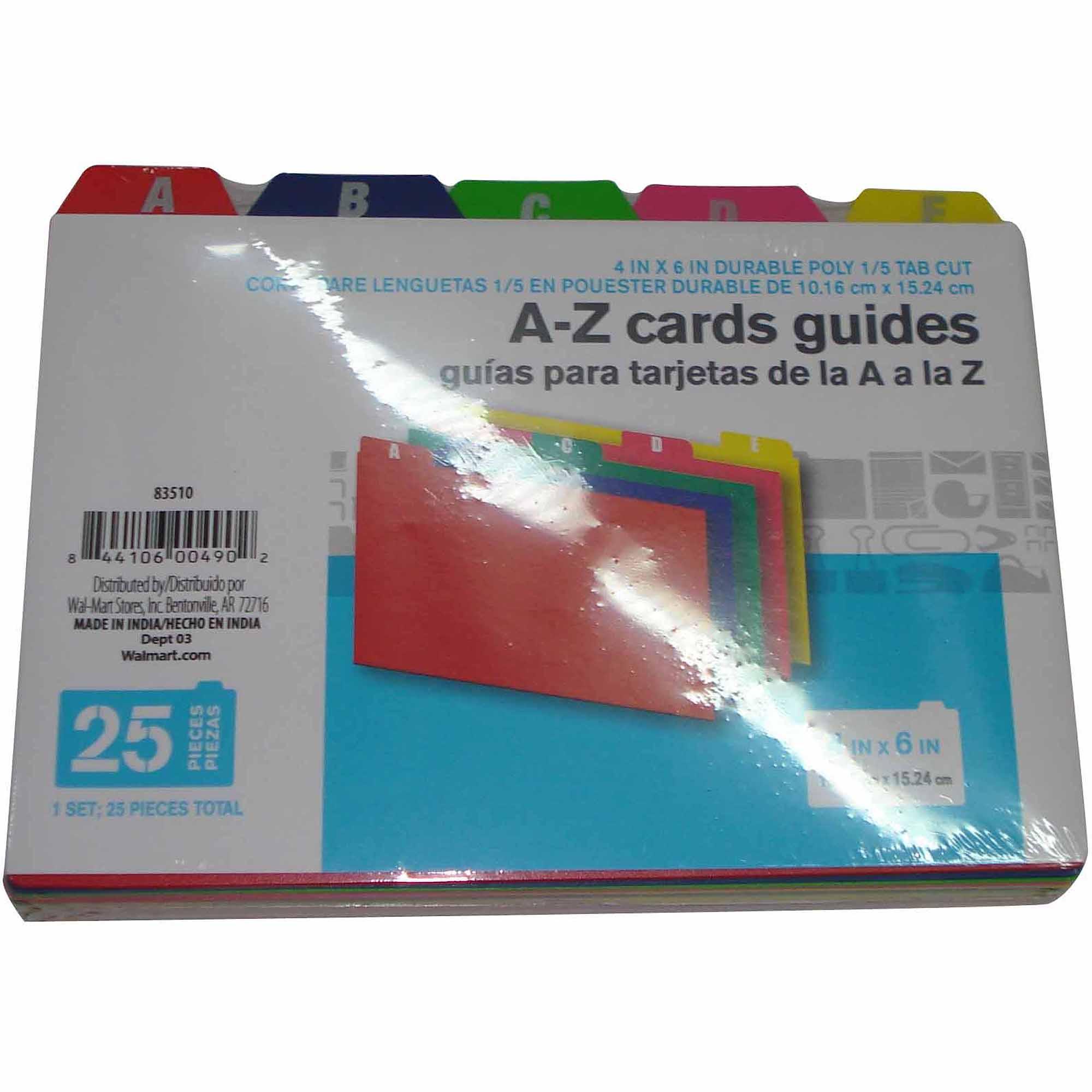 300 Index Cards: Index Cards Walmart