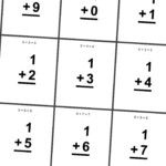 6 Best Images Of Printable Math Digit Cards   Printable Math
