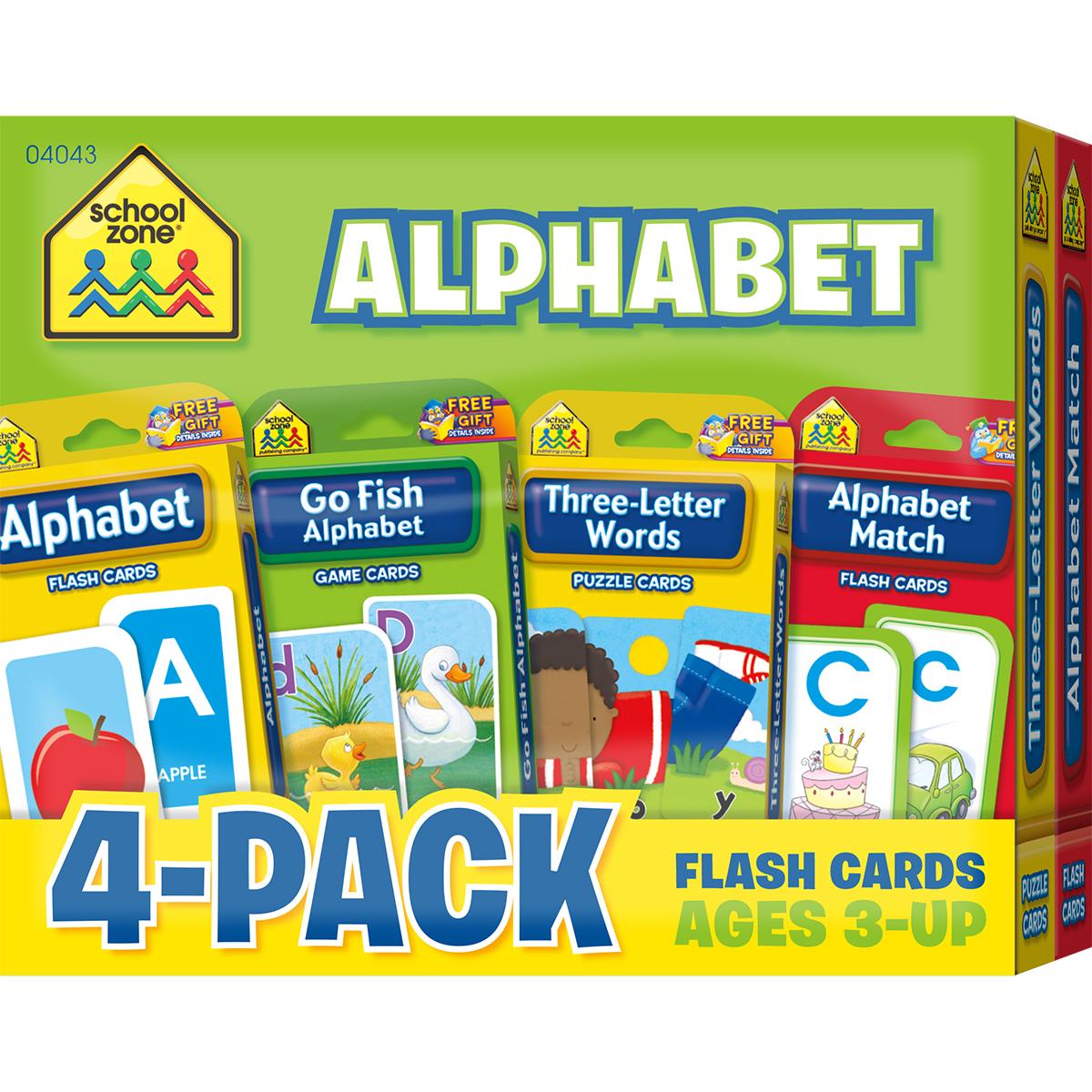 Flash Cards 4-Pack-Alphabet | Walmart Canada